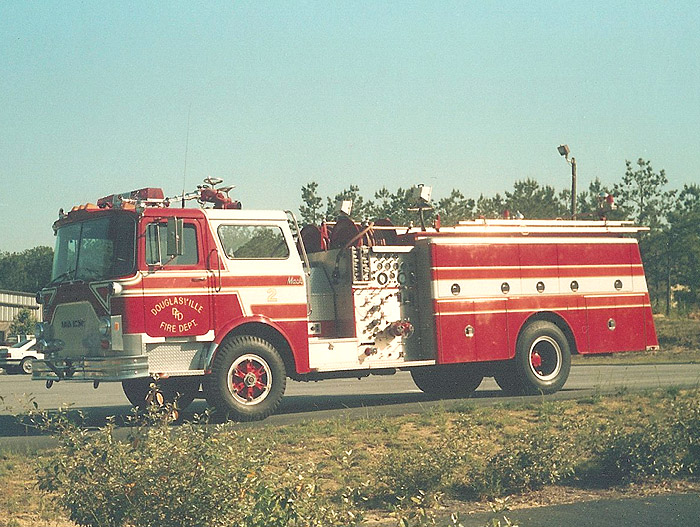 Douglasville Fire Department  E-2