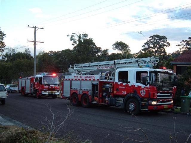 Scania & Isuzu New South Wales Fire Brigades