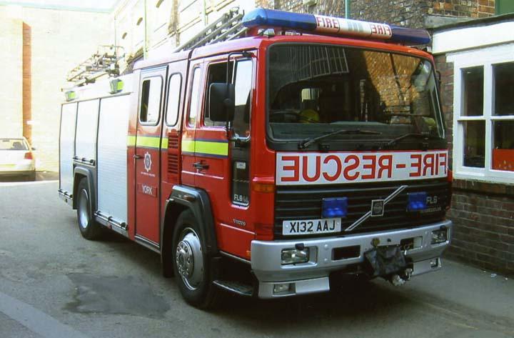 Volvo FL6 Rescue Pump York Fire station