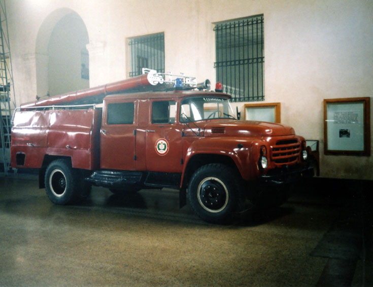 Zil 130 Series at Fire Museum in Cuba