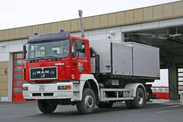 MAN Prime mover Hafnarfjordur Iceland
