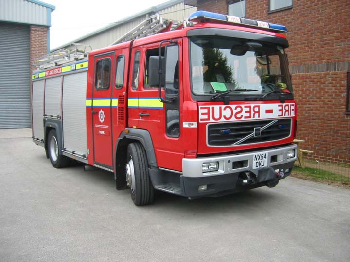 2nd York pump North Yorkshire Fire service