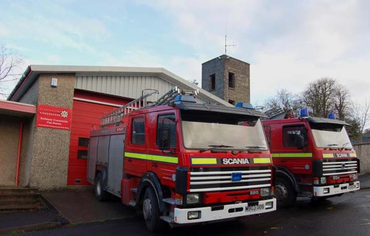 Rothesay Fire station Line up