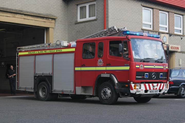 Highlands & Islands FRS Beauly Mercedes