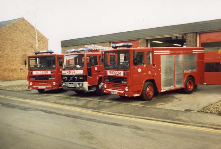 Brand new appliances Northallerton Fire station