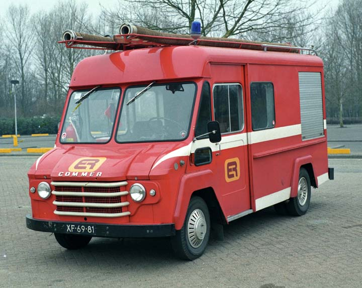 Works Fire brigade Electrorail Commer Walkthru