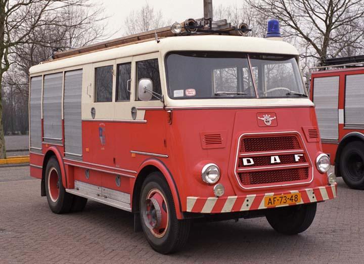 Brandweer Lopik 1969 DAF A1300