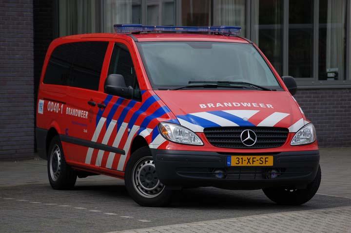 Brandweer Rotterdam Duty Officer Mercedes Vito