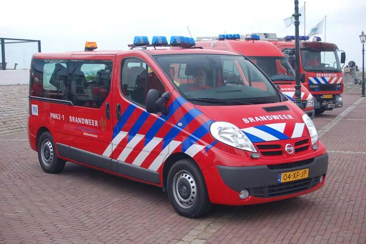 Brandweer Hellevoetsluis Nissan Primastar