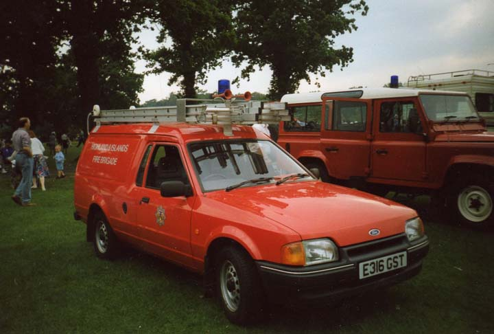 Ford Escort Highlands & Islands Fire Brigade
