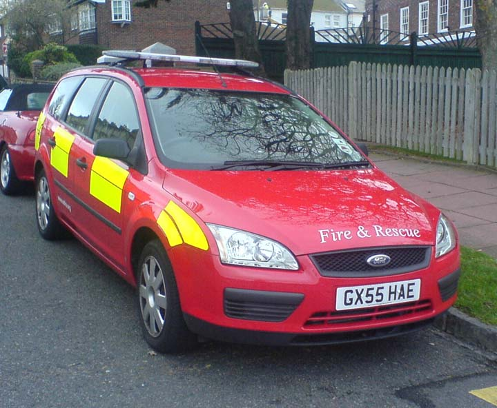 Ford Focus Officer Response Vehicle GX55HAE