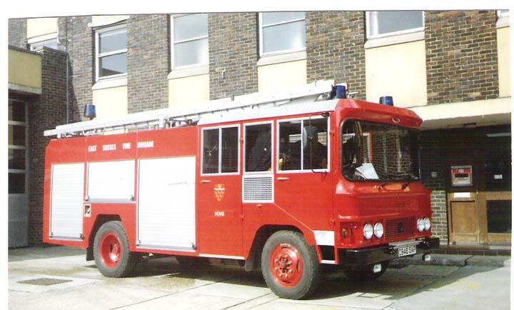 East Sussex Fire Brigade Bedford TKG Appliance