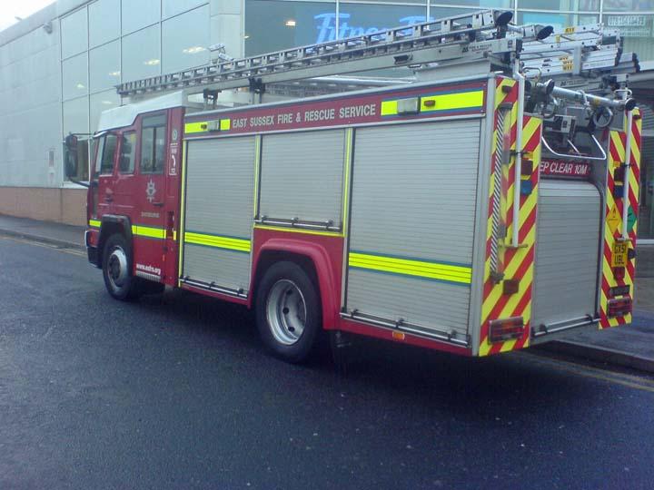 East Sussex Eastbourne Volvo Saxxon Rescue Pump