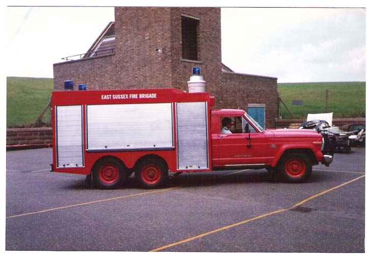 East sussex Fire brigade Jeep Rescue Tender