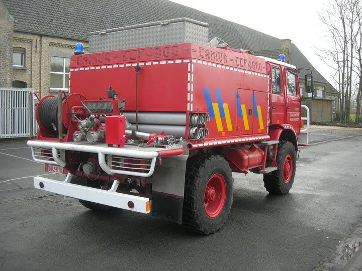 Brandweer Houthulst Belgium Forest Fire fighting
