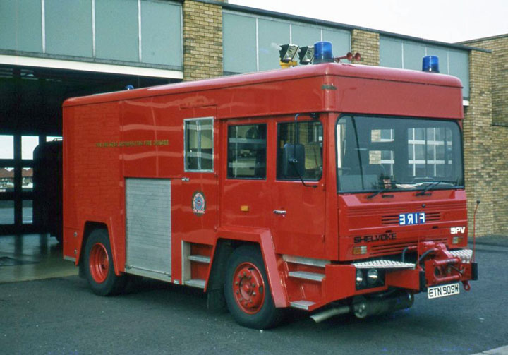 Tyne & Wear Emergency Tender Shelvoke in 1985