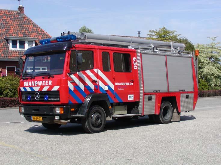 Brandweer Boskoop Mercedes Benz 914 Ecoliner