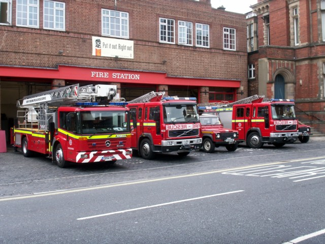 York fire station.