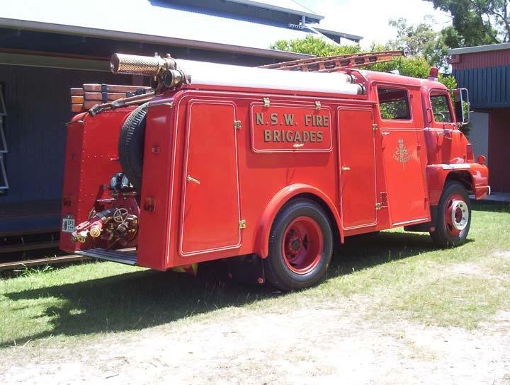 1964 Ford Thames Trader Ex N.S.W Fire Brigades