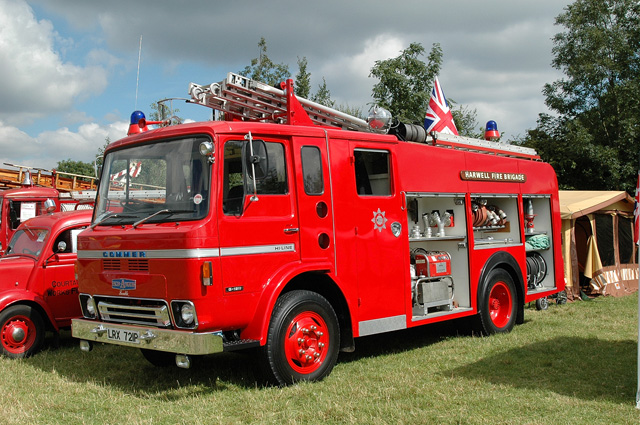 Commer Harwell Fire Brigade