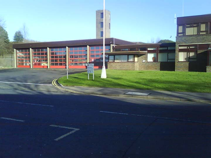 Hastings fire station East Sussex
