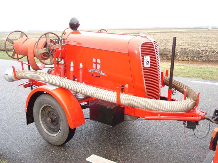 Ford pump Fire brigade Amersfoort