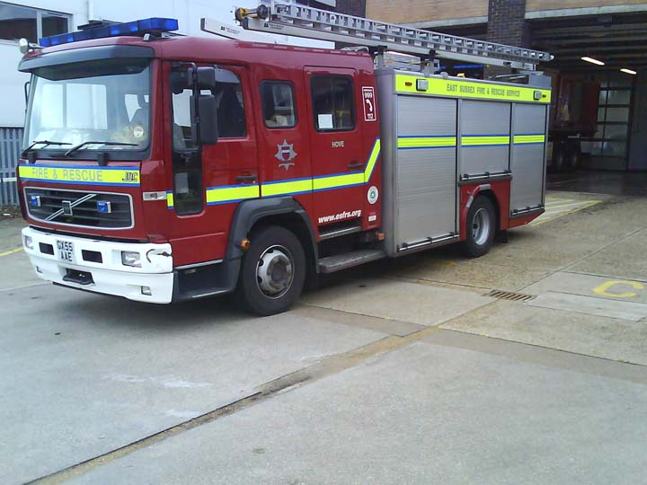 East Sussex Hove Volvo Fire Appliance