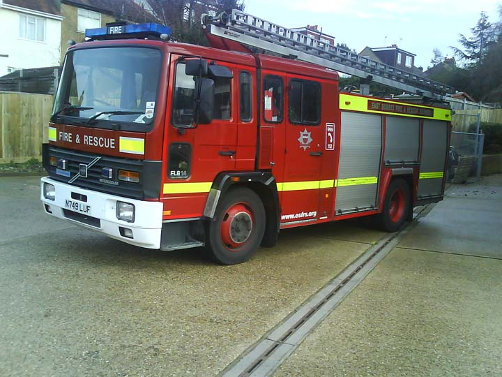 East Sussex Fire & Rescue Brighton Volvo