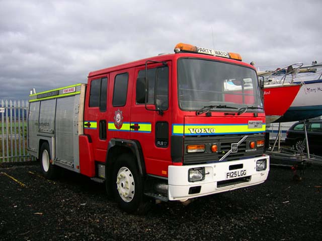 Volvo FL617 Fire Engine Limo