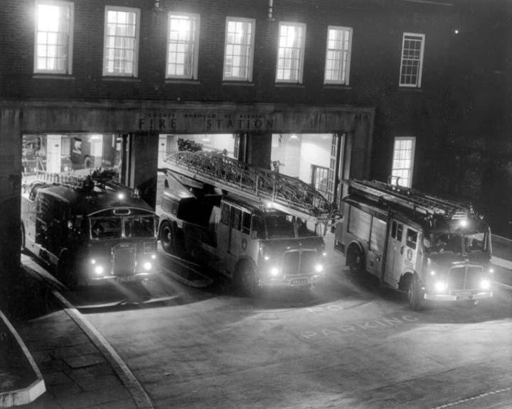 Reading & Berkshire Fire brigade Caversham Road