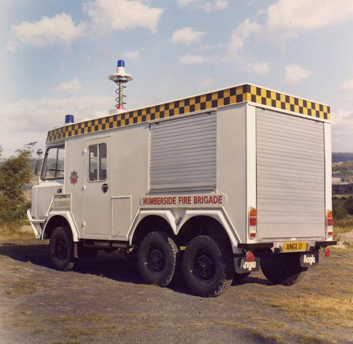 Humberside Rescue Tender