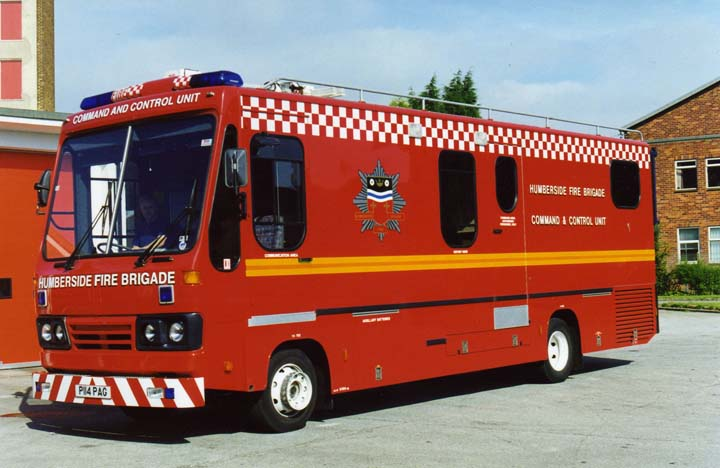 Humberside Fire Brigade Contol Unit Iveco