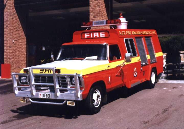 Australia Fyswick Fire station Rescue Unit