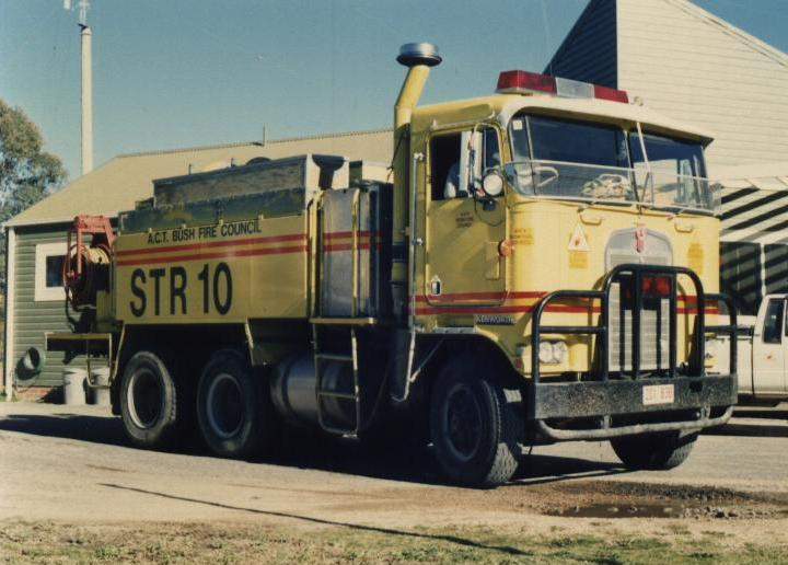 Australia Kenworth Heavy Tanker Bush fire