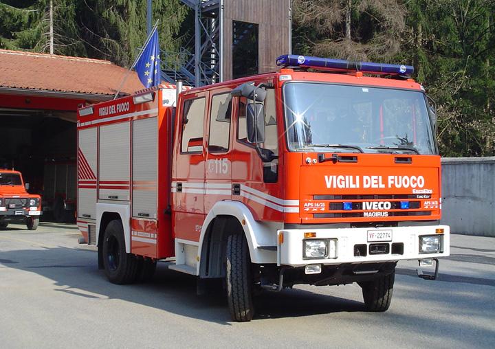 Fire Engines Photos Iveco Magirus Eurofire Pumper Vigili