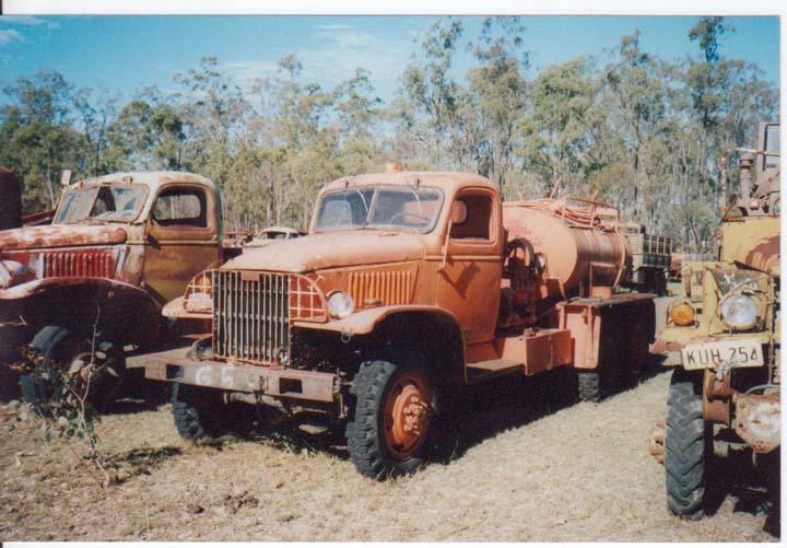 GMC 6x6 ex Military at Kingaroy QLD