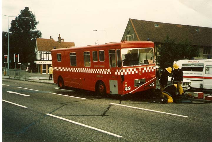 East Sussex Incident Command Unit in 1978