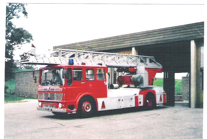 East Sussex Fire Brigade A.E.C./Merryweather TL.