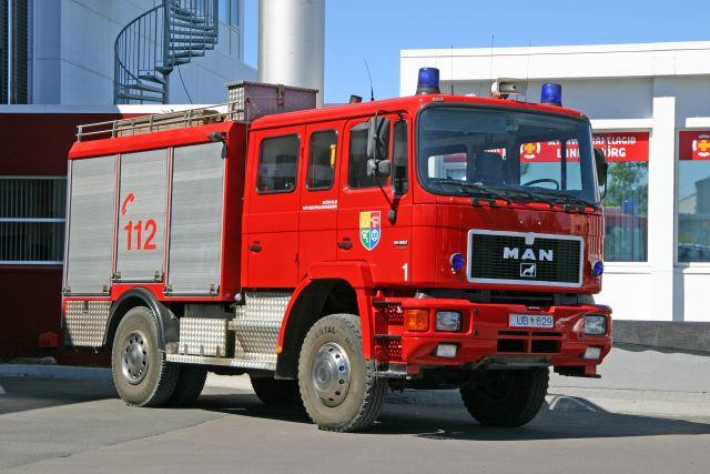 MAN Fire brigade Reykjavik