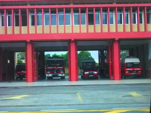 B command Belait Fire&Rescue Station