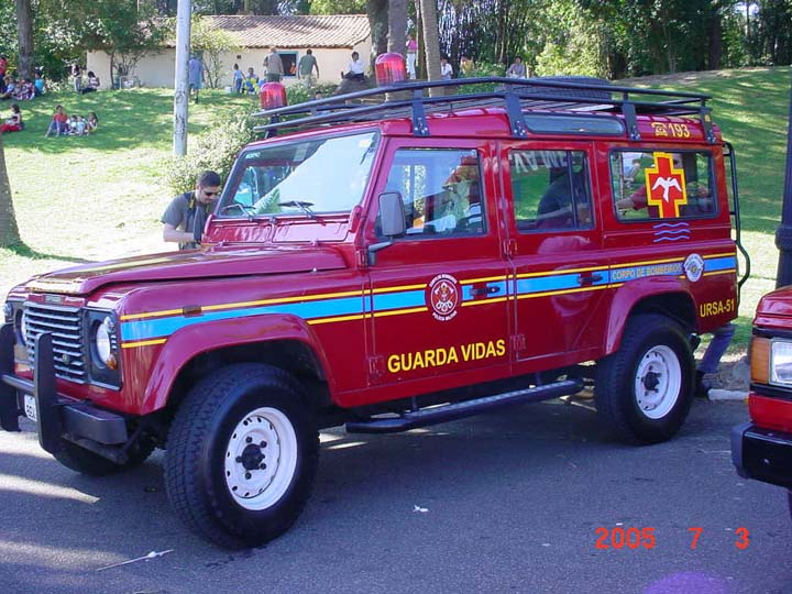 Fire engines photos bombeiros s o paulo brazil land for Garage land rover nancy