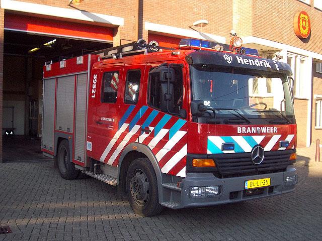 Amsterdam Watertender station Hendrik
