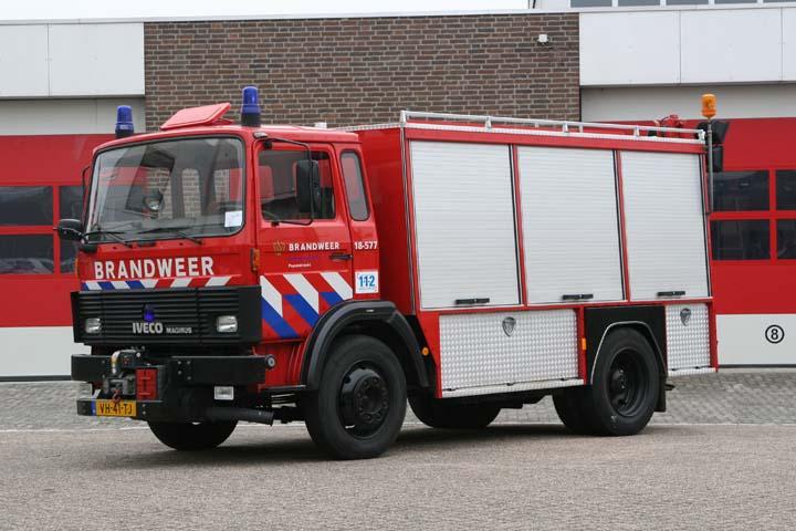 Brandweer Papendrecht Iveco Emergency Tender