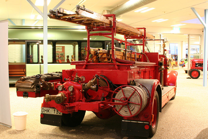Volvo LV70 fire engine from 1934, rear view