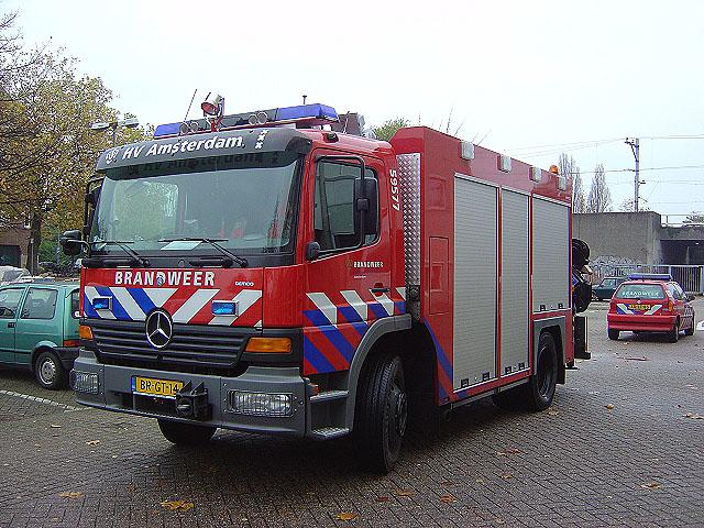 Rescue truck Amsterdam