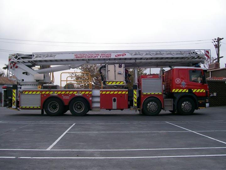 MFB -Ladder Platform Bronto Skylift 25, Australia
