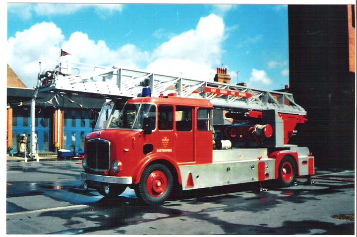 AEC/Merryweather Turntable ladder Eastbourne