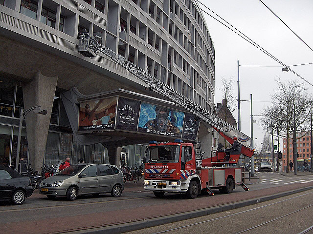 Amsterdam ladder in action