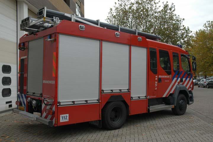 Brandweer Rotterdam Metaalhof DAF LF55