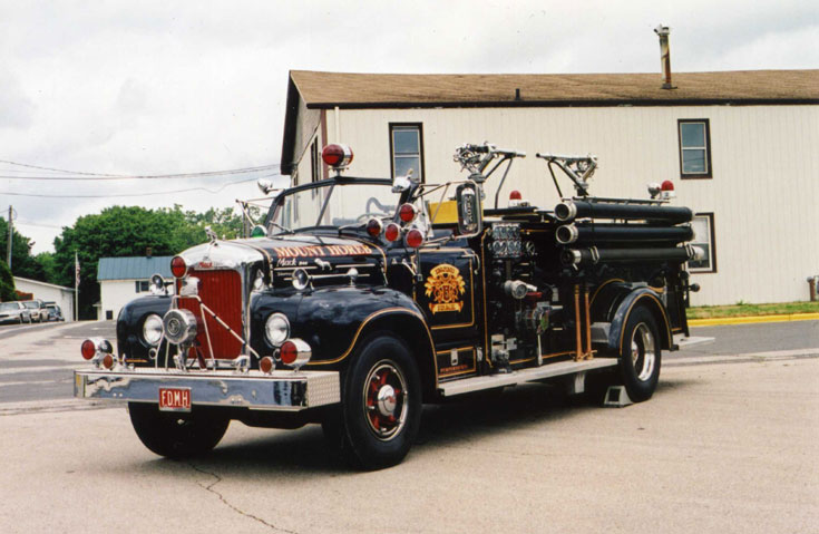 Mount Horeb Volunteer FD 1956 Mack